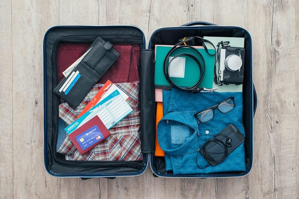 Budgettips koffer inpakken