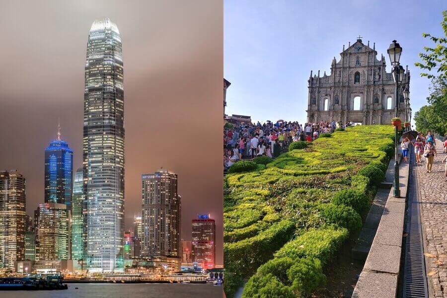 De ideale landencombinatie Hong Kong en Macau