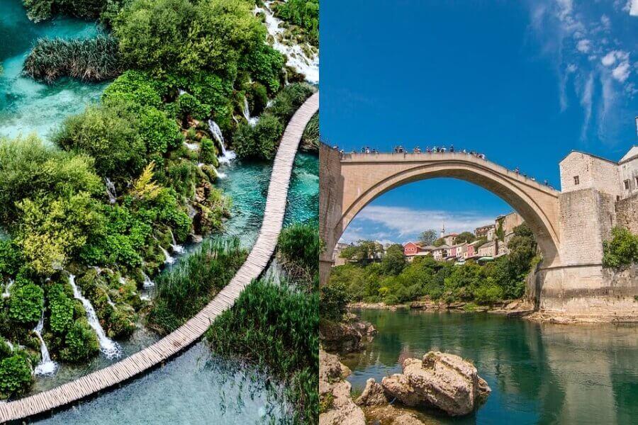 De ideale landencombinatie Kroatië en Bosnië-Herzegovina