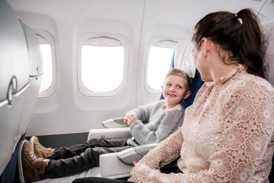 Kinderen vinden vliegen vaak heel leuk