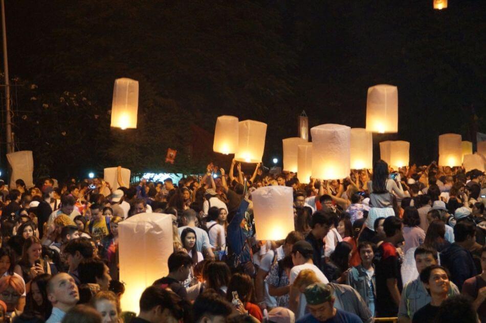 Loi Krathong, het feest van water en licht