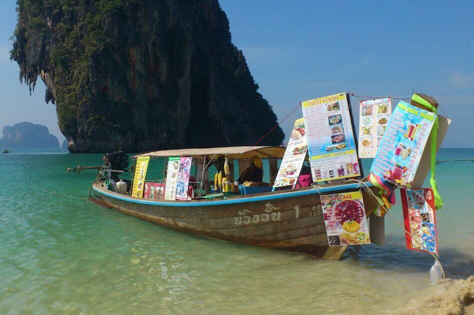 Lokaal eten in Thailand
