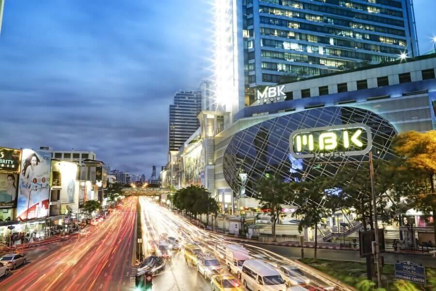 MBK Shopping mall in Bangkok