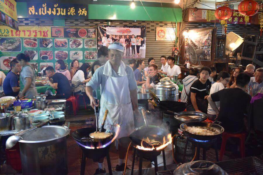 Streed food in Chinatown, Bangkok