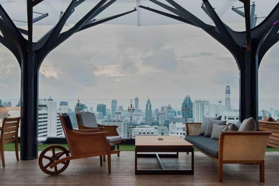 Uitzicht vanaf Above11, Bangkok