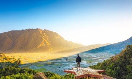 Indonesie Lombok Senaru Sembalun