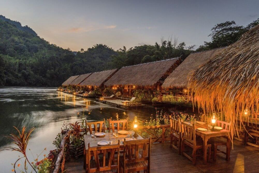 River Kwai Jungle Rafts Kanchanaburi Thailand