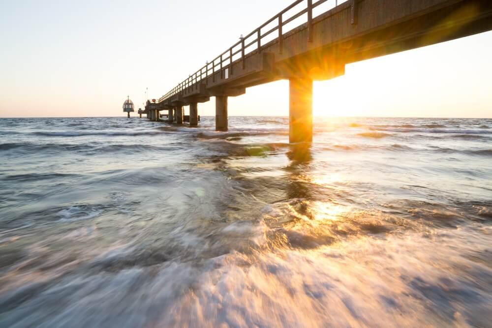 Brug over de Baltische Zee