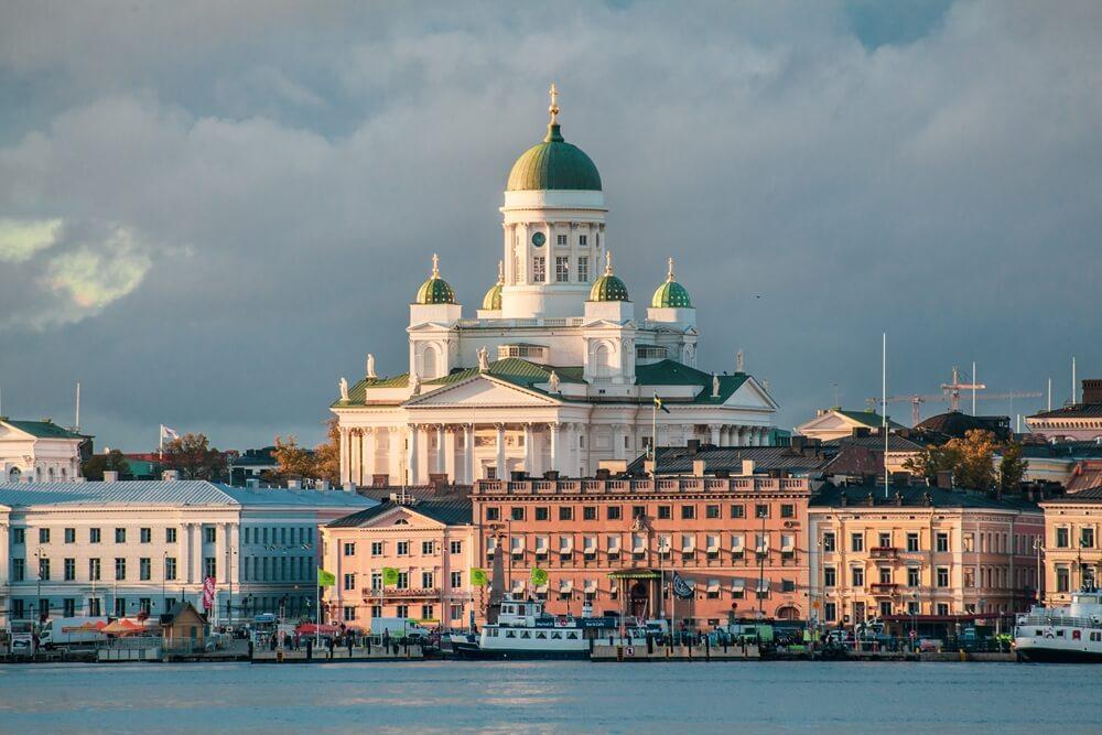 Finland Helsinki Kathedraal Finland