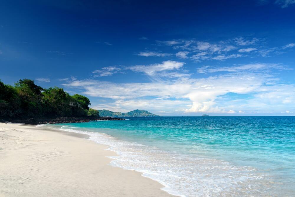 Indonesie Bali Blue Lagoon beach Pandangbai
