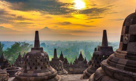 Indonesie Java Borobudur tempel