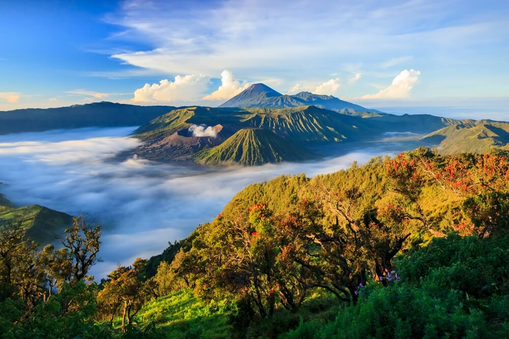 Indonesie Java Bromo vulkaan 1