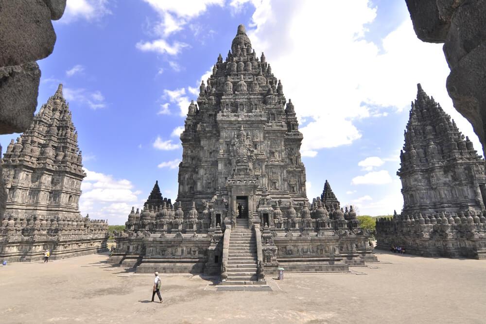 Indonesie Java Prambanan