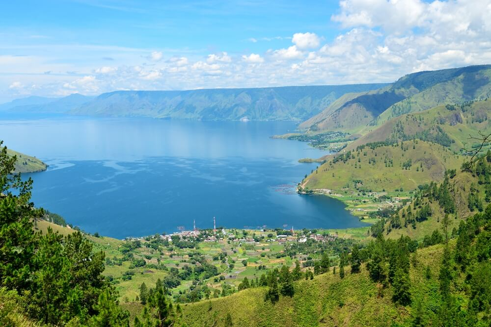 Indonesie Sumatra Samosir Lake Toba