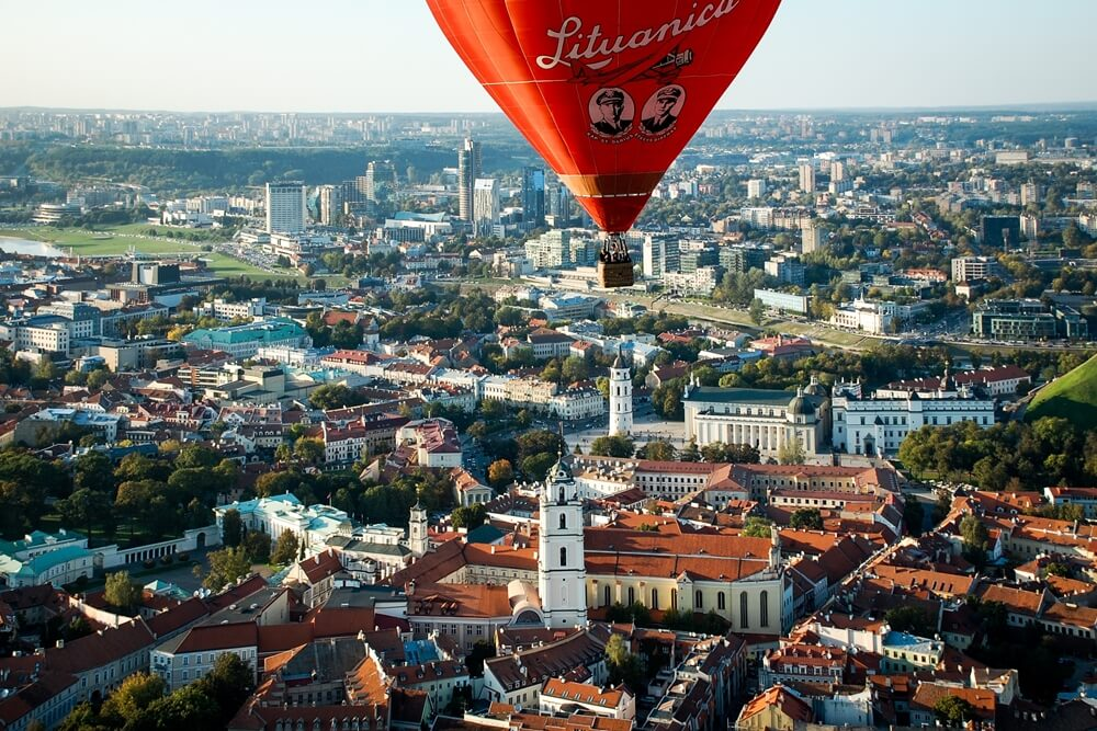 Lithouwen Vilnius Old Town