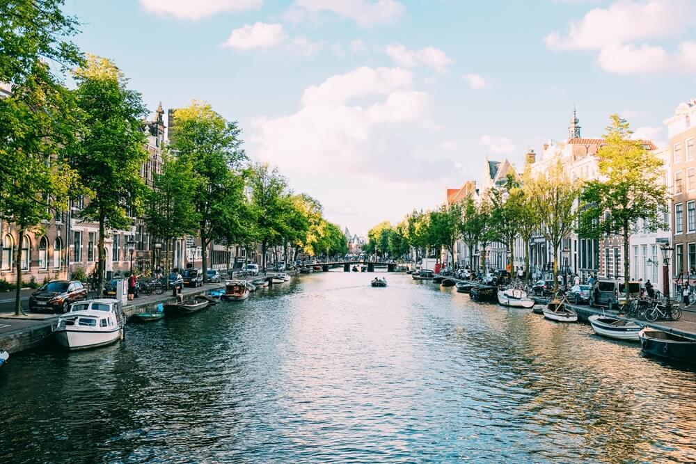 Nederland De Amsterdamse grachten