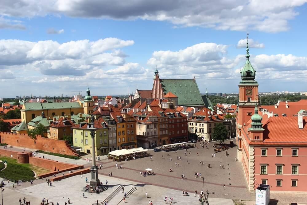Polen Warschau plein