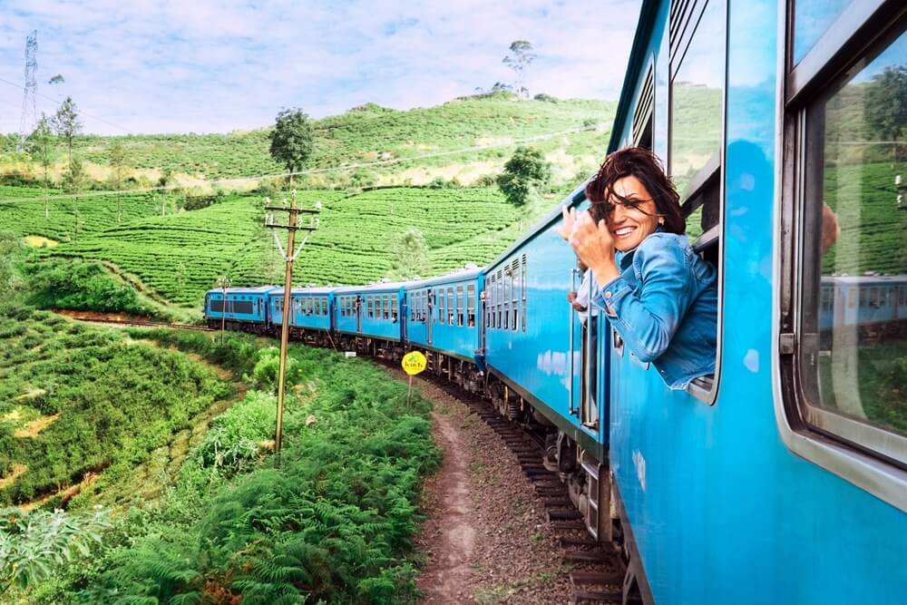 Sri Lanka Ella mooiste treinreis ter wereld