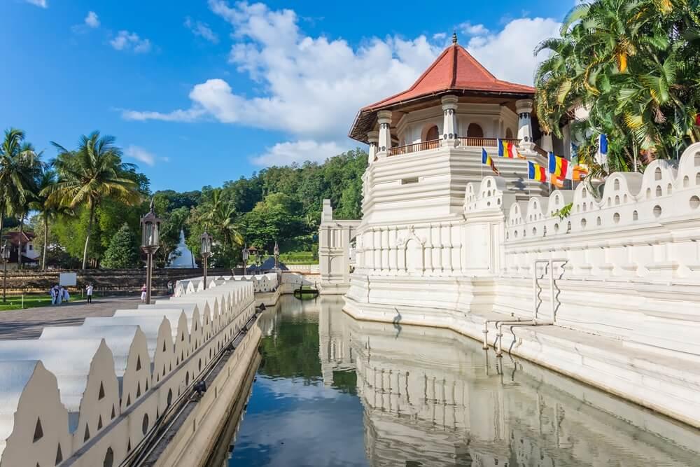 Sri Lanka Kandy Tempel van de Tand