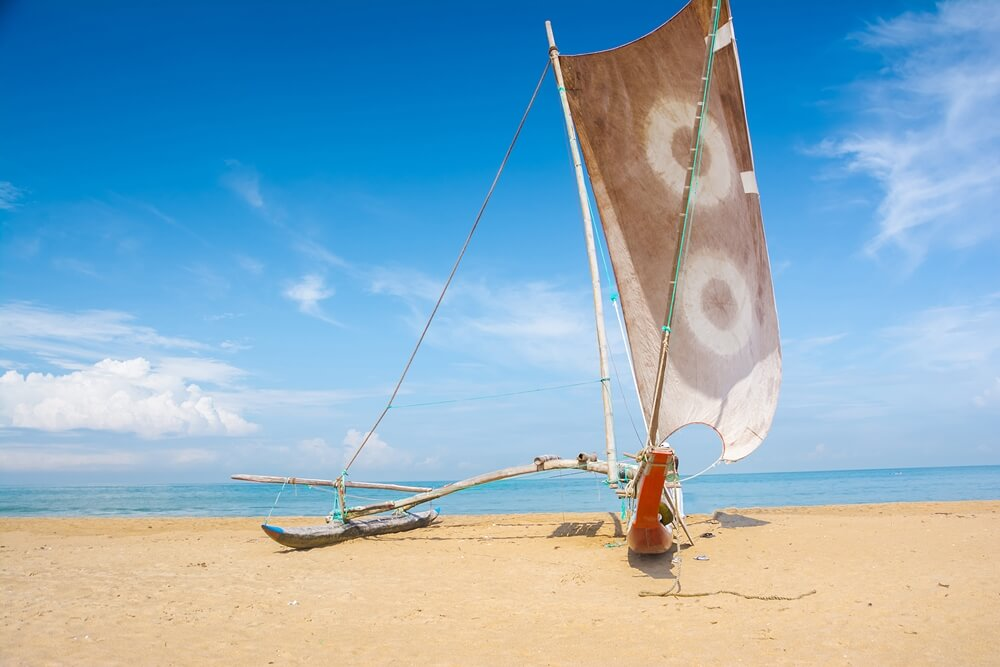 Sri Lanka Negombo boot