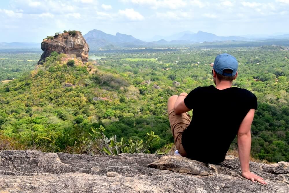Sri Lanka Sigiriya uitzicht
