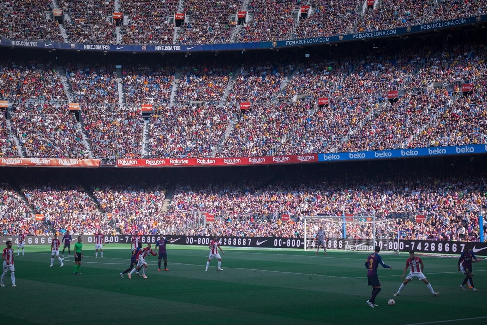 Voetbalreizen Barcelona 1